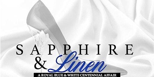 Sapphire & Linen - A Royal Blue & White Centennial Affair