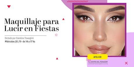 Maquillaje para Fiestas con Mila Marzi entradas
