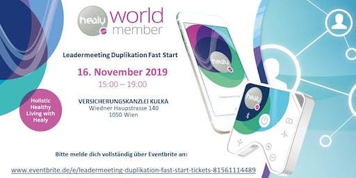 Leadermeeting Duplikation Fast Start