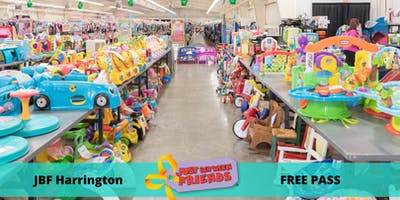 FREE General Admission Pass| March 6-8 | JBF Harrington Spring 2020 | Mega Children's Sale event