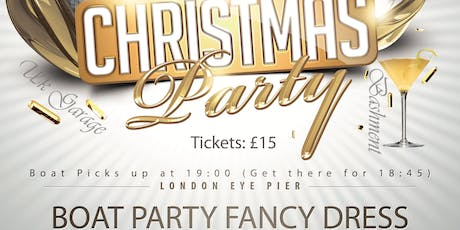 Christmas Boat Party - Fancy Dress tickets