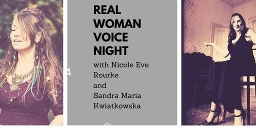 Real Woman Voice Night (Poetry and Music)