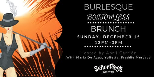 The Official Winter Pride Fest Burlesque Bottomless Brunch