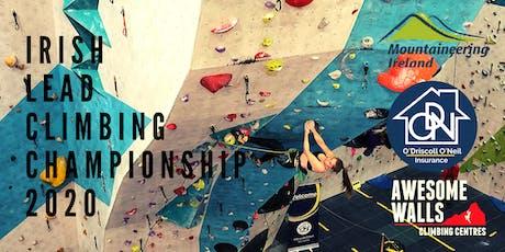 Irish Lead Climbing Championship 2020 tickets