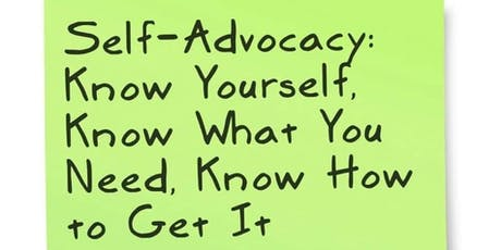Self-Advocacy: It's About You! tickets