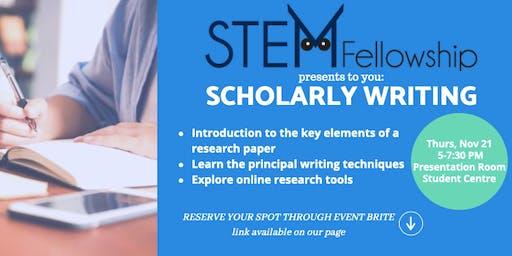 Scholarly Writing Workshop