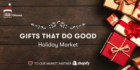 Gifts That Do Good Holiday Market tickets