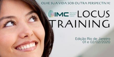 Treinamento Vivencial LOCUS bilhetes