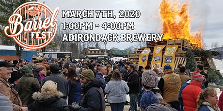 2020 Adirondack Brewery Barrel Fest tickets