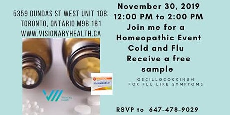 Cold and Flu Prevention w/Homeopathy tickets