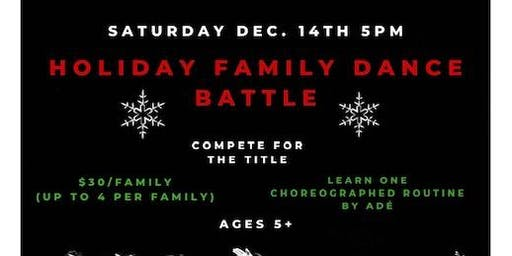 Holiday Family Dance Battle