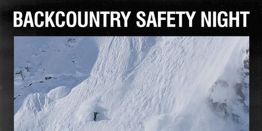 Backcountry Safety Night