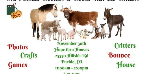 3rd Annual Cookies & Cocoa with the Critters