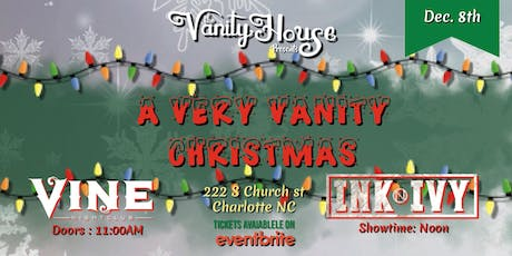 A Very Vanity Christmas tickets
