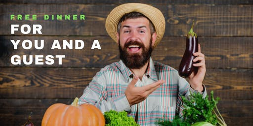 Natural Health Solutions | FREE Dinner Event  with Dr. Michael Brackney, DC