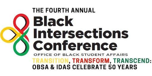 GENERAL REGISTRATION Black Intersections 2020: Transition, Transform, Transcend