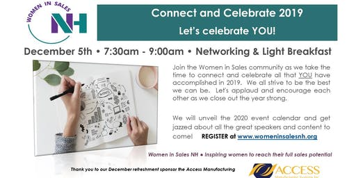 Connect and Celebrate 2019 - Women in Sales...Let's Celebrate YOU!