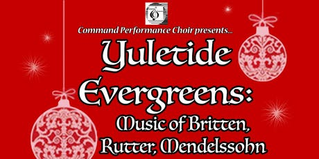 Yuletide Evergreens tickets