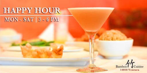 Happy Hour at Bamboo Cuisine!