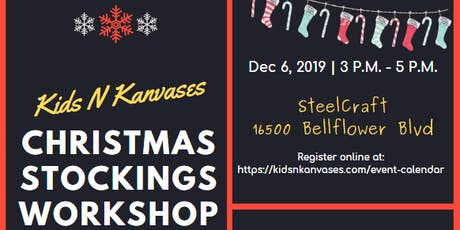 Christmas Stockings Workshop at SteelCraft tickets