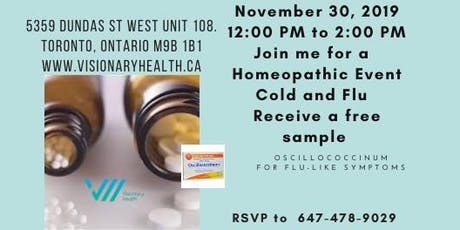 Homeopathic Event- Receive a sample tickets