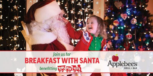 Breakfast with Santa 2019 @ Applebee's Grill + Bar New Roc City
