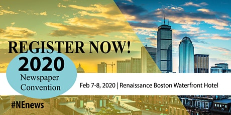 2020 New England Newspaper & Press Association Annual Winter Convention tickets