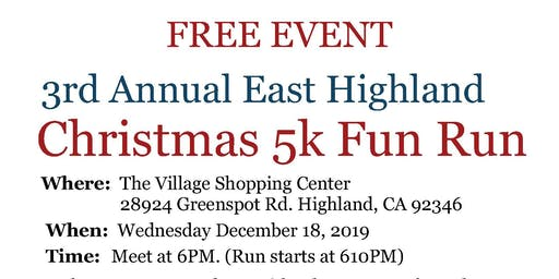 2019 East Highland Christmas Run