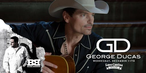 George Ducas with Blake Burrow and Grace Tyler
