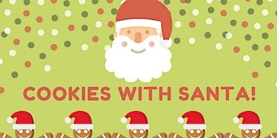 Cookies with Santa   ($5 Per Child,  $15 Per family)