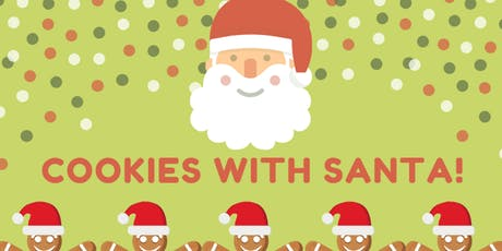Cookies with Santa   ($5 Per Child,  $15 Per family) tickets