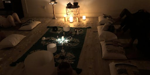 Sound Healing Group Acupuncture for Tension Release