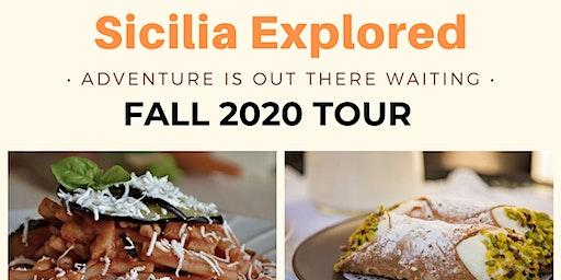 SICILY FOOD TOUR 2020
