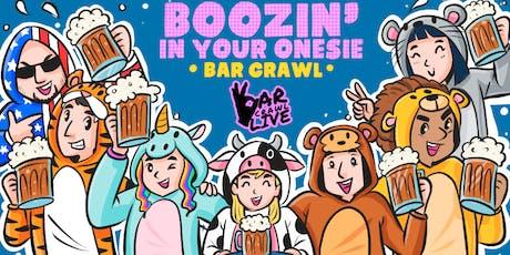 Boozin' In Your Onesie Bar Crawl | Raleigh, NC tickets