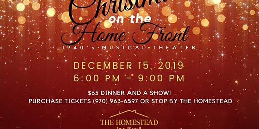 SOLD OUT Dinner Theater: Christmas on the Home Front