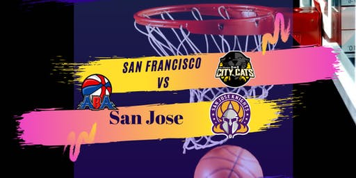 Professional Basketball Game  San Jose Knights Vs  SF City Cats ABA