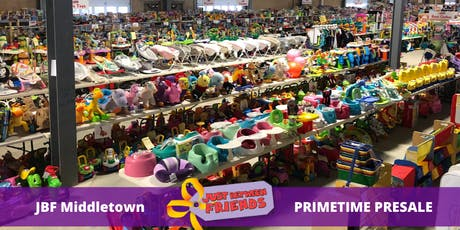 Pimetime Presale pass |April 1st | JBF Middletown Spring 2020 | Mega Children's Sale event  tickets