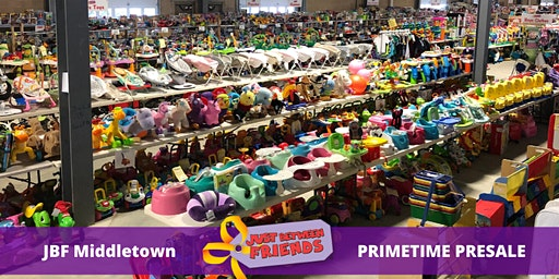Pimetime Presale pass |April 1st | JBF Middletown Spring 2020 | Mega Children's Sale event