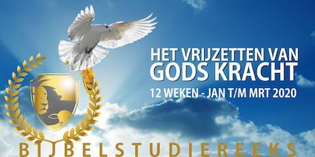 Het Vrijzetten Van Gods Kracht - Bijbelstudiereeks tickets