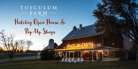 Holiday Open House & Pop-Up Shops tickets