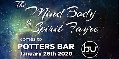 Exhibitors for Mind Body & Spirit Fayer @ Potters