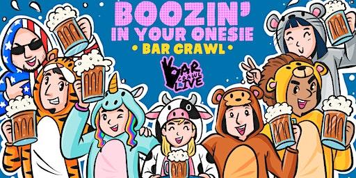 Boozin' In Your Onesie Bar Crawl | Washington, DC - Bar Crawl Live