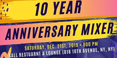 54 Kingdoms 10-Yr Anniversary Mixer tickets
