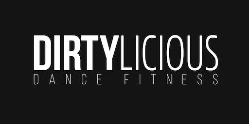 FREE Dirtylicious Dance Fitness Class with Erica Tanner
