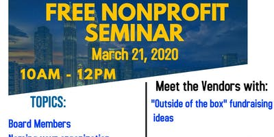 FREE Nonprofit Seminar
