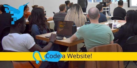 Code a Website: Free lesson for beginners - crash course on HTML/CSS tickets