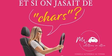 ET SI ON JASAIT DE ''CHARS''? billets
