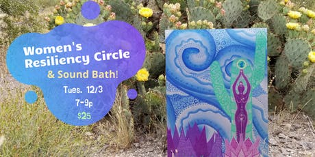 Women's Resiliency Circle & Sound Bath tickets