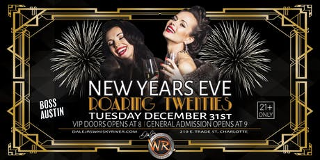 New Years Eve 2020 : Roaring 20's Party tickets