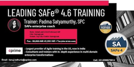 CPrime Leading SAFe Training in Gurugram tickets